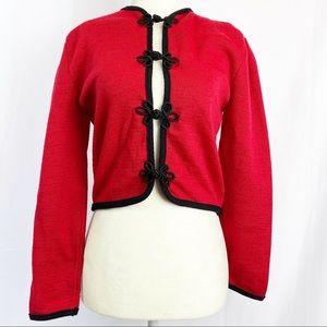 Pendleton 100% Virgin Wool Long Sleeve Cardigan